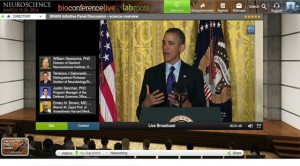 President Barack Obama's participation in BioconferenceLive 2014 alongside Manuscriptedit